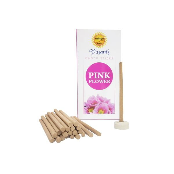 Picture of Pink Flower Dhoop Sticks